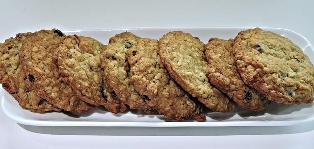 zdrowe przekąski - ciasteczka